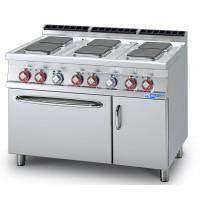 Multi-Line 700 Elektroherd mit Elektro-Backofen 70/120CFEQS-L