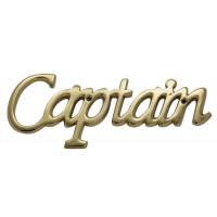 SeaClub Türschild Captain