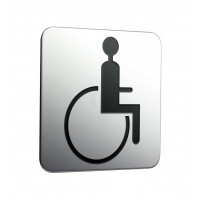 Frasco Türschild Rollstuhlfahrer