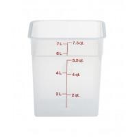 Cambro CamSquares® - Transparent Vorratsbehälter 7,6 Liter