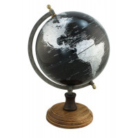 SeaClub Globus schwarz antik
