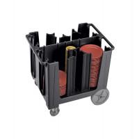 Schwarz 110 Cambro Verstellbarer Tellerwagen