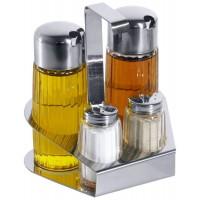 Contacto Ersatzflasche zu Menage 2-teilig Öl/Essig
