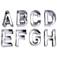 Contacto Ausstecher Buchstaben, groß
