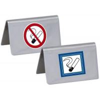 Contacto Nichtraucherschild, seidenmatt