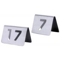 Contacto Einzelnes (bitte Nummer angeben) Tischnummernschild aus dem Nummernkreis von 1 bis 99