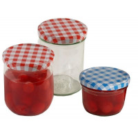 Contacto Einkochglas, mit Deckel, 440 ml