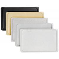 Contacto Norm-Tablett, GN 1/2, granitgrau