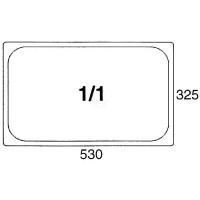 Contacto GastroNorm-Behälter GN 1/1 Polypropylen 13,5 l