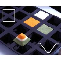 Contacto Backmatte Pyramide, 7,1 cm