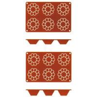 Contacto Silikon-Backmatte, Briochette, groß
