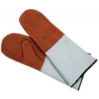 Contacto Paar Lederhandschuhe, braun