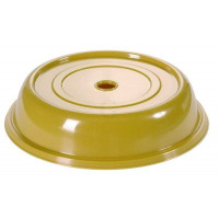 Contacto Tellerglocke, goldgelb, 27 cm