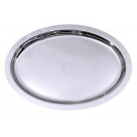 Contacto Bankettplatte, oval, 70 cm