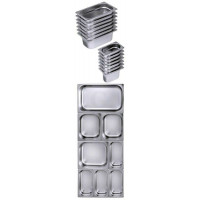 Contacto GastroNorm-Behälter GN 1/9 Serie 7000 0,6 l