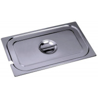 Contacto GastroNorm-Behälter GN 1/9 Deckel mit Ausschnitt für 7000