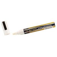 Contacto Kreidemarker, weiß, dünn