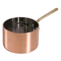 Contacto Stielkasserolle, tief, aus Kupfer