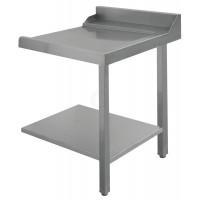 Bartscher Zu- oder Ablauftisch rechts Breite 700 mm für Durchschubspülmaschinen