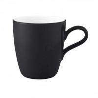 Seltmann Weiden COUP Fine Dining Fashion Becher mit Henkel 0,28 Liter M5389, schwarz
