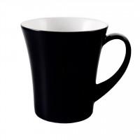 Seltmann Weiden Meran Springcolors Becher Diva 5156 0,35 Liter, schwarz