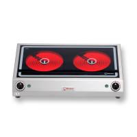 Berner Elektroherd BS2PQ 2 Kochstellen mit Strahlheizkörper