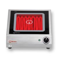 Berner Elektroherd BS1PQ mit Strahlheizkörper