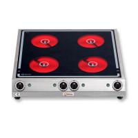 Berner Elektroherd BS4SPK 4 Kochstellen mit Strahlheizkörper