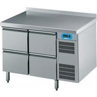 Edelstahl Kühltisch mit 4 Schubladen von Chromonorm
