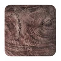 Seltmann Weiden Coup Fine Dining Oak Coupteller flach eckig 29x29 cm M5383