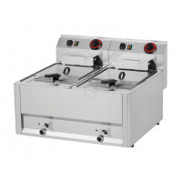 Elektro Doppel-Fritteuse Serie 600