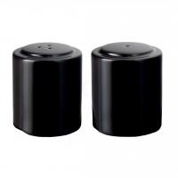 Seltmann Weiden Meran Springcolors Garnitur Salz + Pfeffer, schwarz