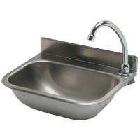 Edelstahl Handwaschbecken mit Kniebedienung für Wandmontage IP0030 von Gastrosteel