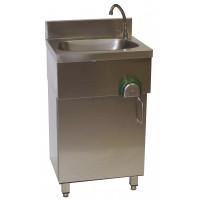 Edelstahl Handwaschbecken mit Unterschrank von Gastro-Steel