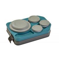 Cambro Tablotherm Speisentransportsystem Isoliertes Tablett mit Geschirr