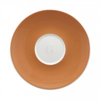 Seltmann Weiden Meran Springcolors Untere zur Espressotasse 5241 12,7 cm, caramel