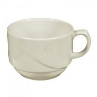 Seltmann Weiden Luxor fine cream Kaffeetasse Obere 0.18 l