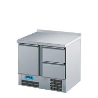 Kühltisch GN 1/1 mit 1 Tür und 2 Zügen BR 795 von Chromonorm