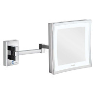 Aliseo Reflection Kosmetikspiegel Led Cubik T3 Doppelschwenkarm-20