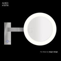 Aliseo Reflection Kosmetikspiegel mit Beleuchtung Led Moon Dance Wandhalterung-20