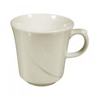 Seltmann Weiden Luxor fine cream Milchkaffeetasse Obere 0.37 l Kelch