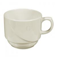 Seltmann Weiden Luxor fine cream Milchkaffeetasse Obere 0.22 l