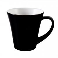 Seltmann Weiden Meran Springcolors Obere zur Cappuccinotasse 5243 0,25 Liter, schwarz