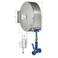 Knauss Armatur Power Reel Trinkwasser-Schlauch blau Schlauchaufroller geschlossen 1/2 Zoll L 6 m-20