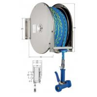 Knauss Armatur Power Reel Trinkwasser-Schlauch blau Schlauchaufroller offen 1/2 Zoll L 15 m-20