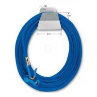 Knauss PowerJet Reinigungs-Set 1/2 Zoll, blau mit Schlauchhalter-20