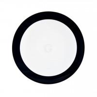 Seltmann Weiden Meran Springcolors Teller flach 5197 17,5 cm, schwarz