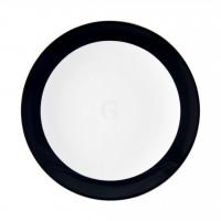 Seltmann Weiden Meran Springcolors Teller flach rund 5208 21,5 cm, schwarz