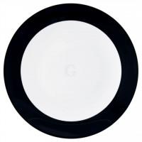 Seltmann Weiden Meran Springcolors Teller flach rund 5210 29 cm, schwarz