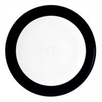 Seltmann Weiden Meran Springcolors Teller flach rund 5209 25,5 cm, schwarz